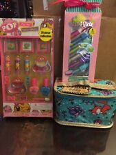 New~ Girls Make Up Collection With Make Up Bag~ Free Shipping