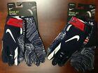 Nike Vapor Jet New England Patriots Football Gloves PGF679-453 Men's Sizes L-3XL