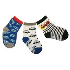 3er Set Babysocken, ABS Anti Rutsch Socken, Jungen, 12-24 Monate