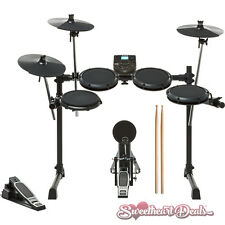 NEW Alesis DM6 Nitro Kit Eight Piece Electronic Drum Set with Sticks