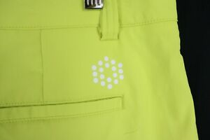 Puma Golf DryCell Lime Green Performance Flat Golf Shorts Mens 36