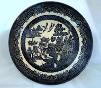 Collectible CHURCHILL Blue Willow Soup/Serving Bowl - Made in England
