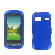 Blue 2 Parts Hard Shield Case Cover Snap On Shell Guard For LG Xpression C395
