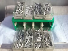 Quantity of Assorted Size Carbon Steel Trivalent Zinc Spring Pins in Draws #1