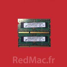 RAM 2x2GB 1Rx8 PC3-8500S pour Macbook Pro 13'' 15'' & 17''