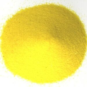 NEW 500g Coloured Wedding Sand Party Ceremony Decorations Fine Bright Yellow