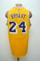 NBA LOS ANGELES LAKERS BASKETBALL SHIRT #24 BRYANT ADIDAS SIZE M ADULT