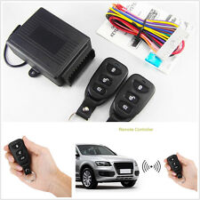 1Set Car Remote Control Central Kit Door Lock Locking Keyless Entry System & key