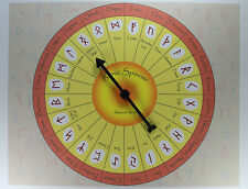 RUNIC SPINNER Runes Divination Fortune Telling Game Oracle Celtic Pagan Wicca