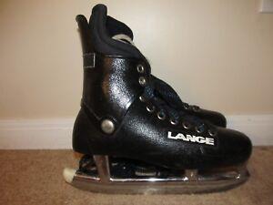 Men/'s Vintage Black Mens Ice Skates Tyer Rubber Skate Guards