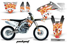 Dirt Bike Decal Graphics Kit Sticker Wrap For Suzuki RMZ450 2008-2017 JACKPOT W