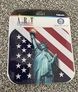 """Fellowes Statue of Liberty Mouse Pad 9"""" x 8"""" Designer Collection"""