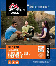 1  - Mountain House Freeze Dried Food Pouch- Homestyle Chicken Noodle Casserole