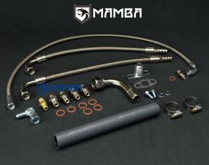 MAMBA Turbo Oil & Water Line Kit Chrysler Lebaron 2.2L 2.5L TE04H 4448992