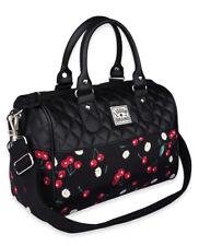 Liquor Brand Daisy Cherry Flowers Floral Punk Goth Handbag Purse LB-ABRO-19004