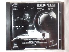 LESTER YOUNG Prez's hat vol. 5 cd SARAH VAUGHAN MAX ROACH RARISSIMO VERY RARE
