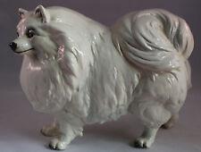 Goebel Pomeranian Dog Statue Figure Figurine Vintage West Germany Large