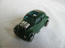 Vintage 1967-68 Mattel Hot Wheels Redline HK Enamel Green Custom Volkswagen EX
