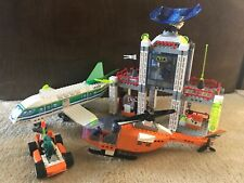 Complete LEGO Set Jack Stone A.I.R. Operation HQ 4620 5 Figures Runway Included