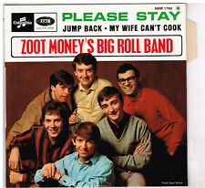 "ZOOT MONEY'S BIG ROLL BAND   Please Stay    7""  45 tours EP    ***NEUF ***"