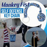 Monkey Fist Paracord Keychain 550 Military Steel Ball Survival Self Defence