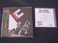 SLADE, Slade On Stage (1982), Japan CD Mini LP, AIRAC-1311, + Bonus CD