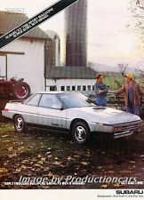 1987 Subaru XT Turbo  Surprised Dad Original Advertisement Print Art Car Ad J756