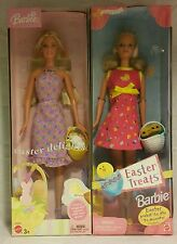 2003 Barbie Easter Delights and 1999 Easter Treats Dolls