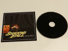 SHADOWS FALL Of One Blood RARE Advance PROMO CD 2000 Mass. Hardcore Heavy Metal
