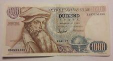 BELGIQUE 1000 FRANCS 1967 Mercator Belgïe 1000 frank SUP