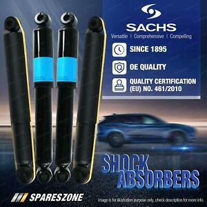 Front + Rear Sachs Shock Absorbers for Land Rover Discovery 03/99-10/02