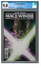 Star Wars: Mace Windu #4 (2018) Marvel Comics CGC 9.8 White Pages FF90