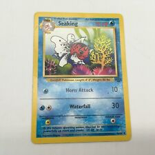 SEAKING Jungle Set 46/64 Uncommon Pokemon Card Unlimited Edition Near Mint