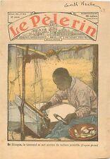 Weaver Tisserand Métier à tisser Loom Ethiope Ethiopia Africa Afrique 1935