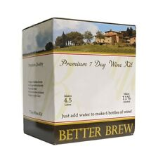 Better Brew Cabernet Sauvignon 7 Day Home Brew Red Wine Kit REDUCED TO CLEAR!