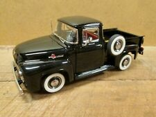 Black 1956 Ford F-100 Pickup, 1:24 Scale - Danbury Mint, Nos, Mint in Box
