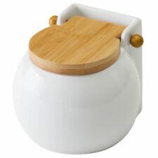 Boite à sel en céramique et Bambou