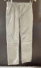 Old Navy Boy's Size 12 Skinny Adjustable Regular Standard Khaki Pants Chinos