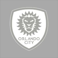 Orlando City FC MLS Team Logo 1 Color Vinyl Decal Sticker Car Window Wall