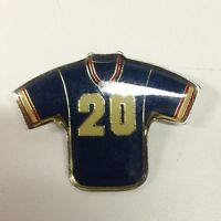 Vintage NY Giants Joe Morris Football Jersey Pin NFL Pinback Pin RARE 1985