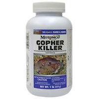 Motomco Gopher Killer 1 Pound Pelleted Bait