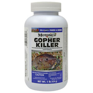 Motomco Gopher Killer 1 Pound Pelleted Bait