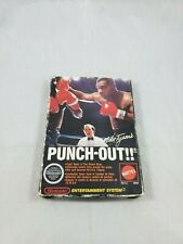 Mike Tyson's Punch-Out (Nintendo Entertainment System, 1987) Not Mint Box Wear