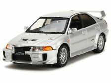 WHITEBOX - MITSUBISHI LANCER EVO V RS VERSION SILVER COLOUR  1:43 SCALE