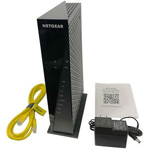 Netgear C6300 Dual-Band GigaBit Cable Modem Router Combo Xfinity Cox AC1750