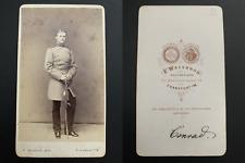 Weisbrod, Frankfurt, Conrad Vintage albumen carte de visite, CDV. Album de régim