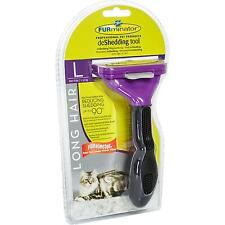 Furminator for Long-Haired Big Cats, Deshedding Care Tool fur Care
