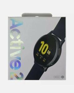 Samsung Galaxy Watch Active 2 44mm Black Aluminium Case Bluetooth Smartwatch*