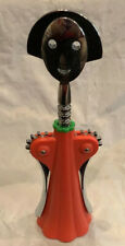 LTD. ED.-ALESSI -Alessandro Mendini Corkscrew Wine Opener-Orange-No Box