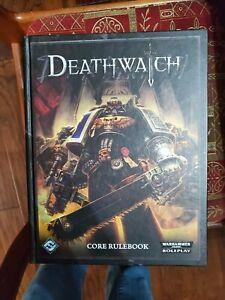 Warhammer 40k RPG Deathwatch Core Rulebook Fantasy Flight Hardcover